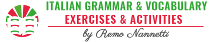 Italian Grammar & Vocabulary Exercises & Activities